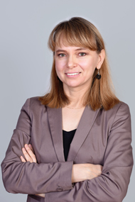 A photograph of Justyna Malesa